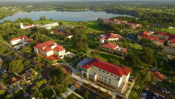 Khuôn viên Saint Leo University từ trên cao