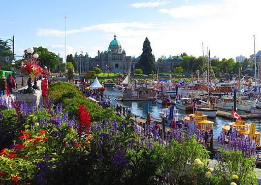 Mùa hè ở thành phố Vancouver- BC
