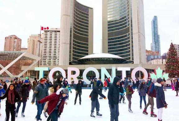 Mùa đông ở Toronto với các hoạt động sôi nổi